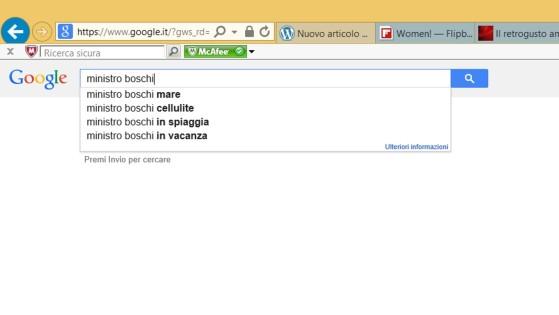 Boschi Google